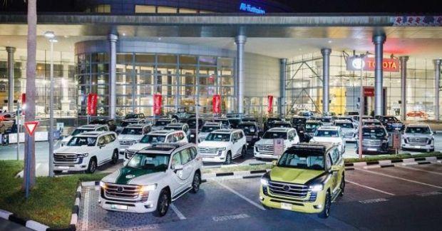 Polisi Dubai dan Abu Dhabi Langsung Borong Toyota Land Cruiser 300 Baru