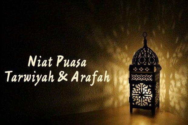 Niat Puasa Arafah dan Tarwiyah Berikut Keutamaannya