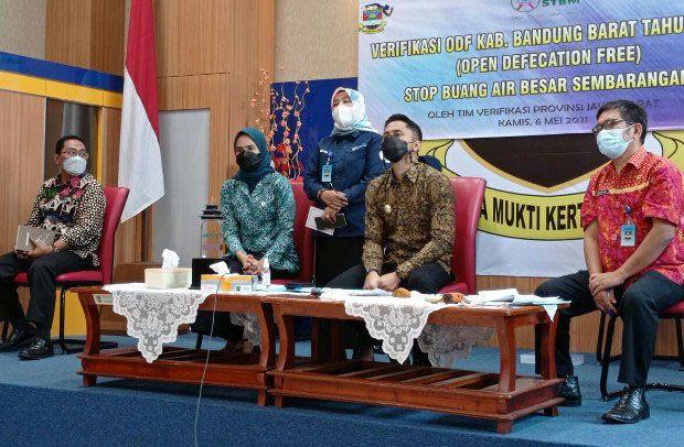 Seluruh Desa di Bandung Barat, 100 Persen Bersanitasi
