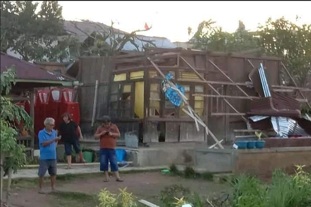 43 Rumah di Minsel Rusak Berat Dihantam Angin Puting Beliung