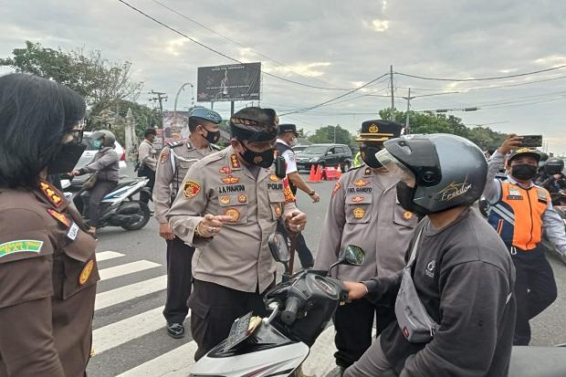 PPKM Darurat di Bali Makin Ketat, Penyekatan Bertambah Menjadi 39 Titik