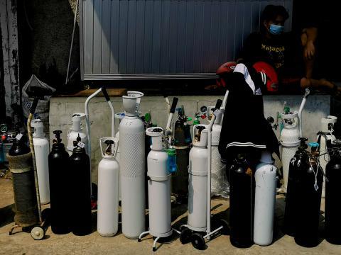 Diberikan Gratis, Krakatau Steel Produksi Tabung Oksigen 1.000 per Hari