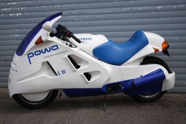 Yamaha Powa D10 Motor Konsep yang Bikin Gempar 33 Tahun Lalu