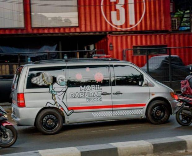 Mobil Darurat Covid-19 Ananda Omesh Resmi Beroperasi Ini Cara Pemesanannya