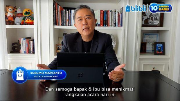 Rayakan HUT ke-10, BliBli Ajak Park Seo Jun Live di TV Indonesia
