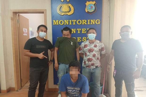 Pedagang Pasar Bersehati Manado Diringkus Polisi Saat Asyik Main Judi Togel Online