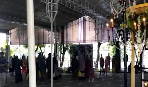 Polisi Bubarkan Resepsi Pernikahan di Tengah PPKM Darurat di Medan
