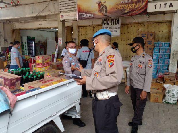 Hari Pertama Operasi Pekat, Polres Kotamobagu Amankan Puluhan Miras Cap Tikus
