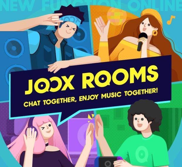 JOOX Bawa Fitur Ala Clubhouse lewat JOOX ROOMS