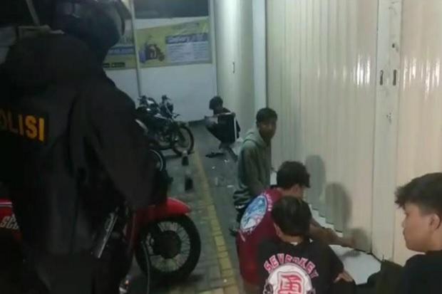 Sok Jagoan, 13 Anggota Geng Motor Kocar-Kacir Dikejar Tim Maung Galunggung