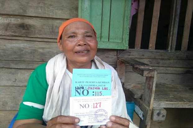 Kisah Nenek Sasmia Lubis, Juru Potong Rumput yang Menabung Bertahun-tahun Demi untuk Berkurban