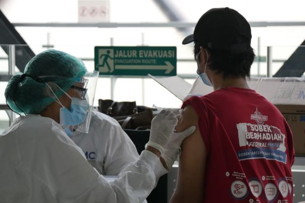 Hadapi COVID-19, Federal Oil Bersama MRT Jakarta Gelar Vaksinasi Gratis