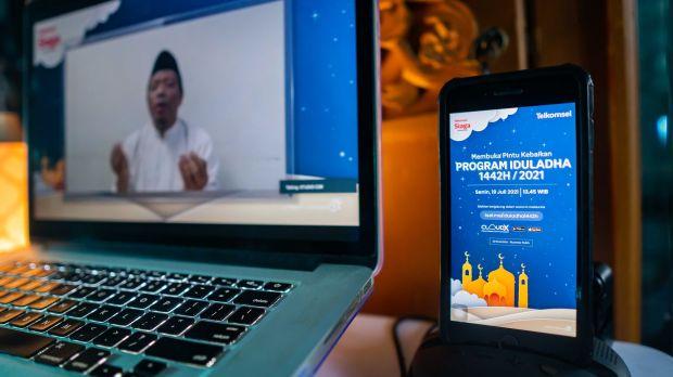 Telkomsel Salurkan 906 Hewan Kurban ke Seluruh Indonesia