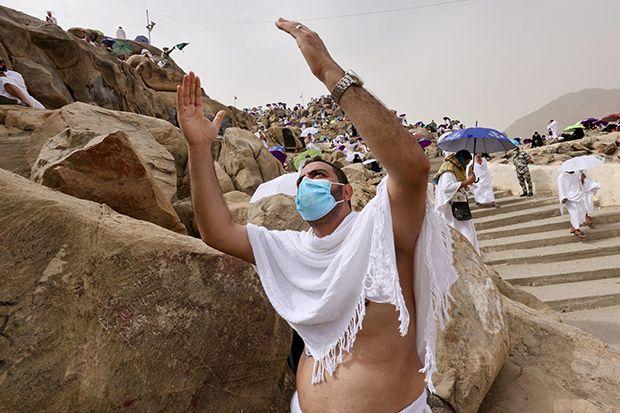 Berkumpul di Arafah, Jamaah Haji Doakan Dunia Segera Bebas Covid-19