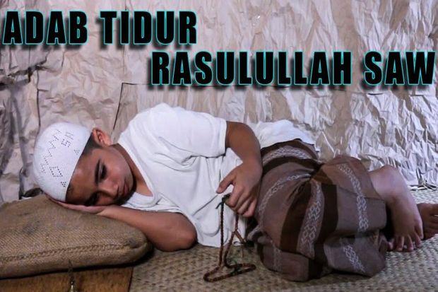 5 Kebiasaan Rasulullah SAW Sebelum Tidur