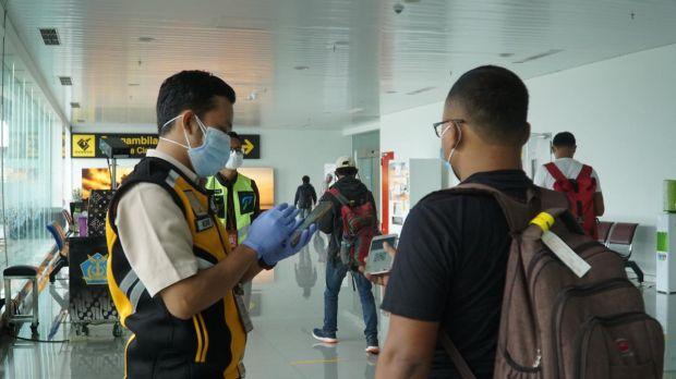 PPKM Darurat Diperpanjang, Bandara Ahmad Yani Perketat Pemeriksaan Penumpang