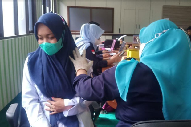 Stok Vaksin Covid-19 di Kabupaten Maros Sudah Habis
