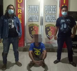 Asyik Pesta Miras, Pelaku Penganiayaan di Minsel Tak Berkutik Diciduk Polisi