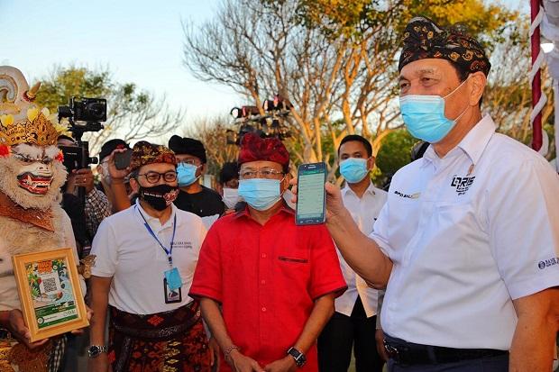 Jokowi Terjun Langsung Tinjau Dana Bansos PPKM Level 4, Luhut: Beliau Sangat Tulus