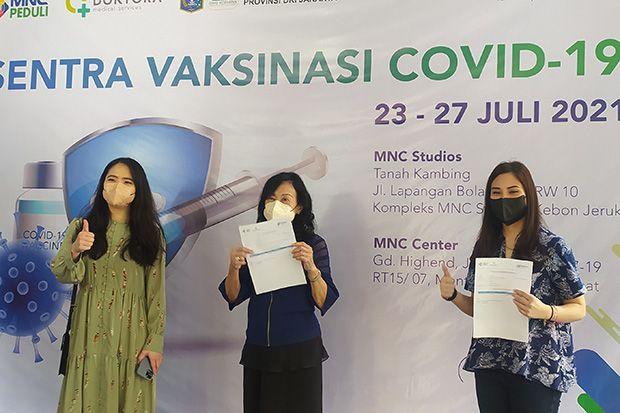 Sentra Vaksinasi MNC Peduli Bersama Kemenparekraf Terbuka untuk Masyarakat Umum dan Lansia