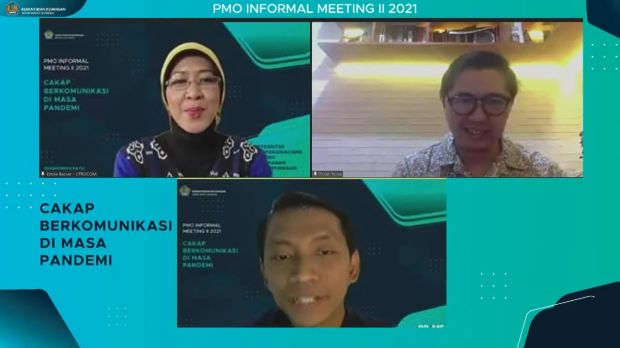 "Kemenkeu Gelar PMO Informal Meeting II: ""Cakap Berkomunikasi di Masa Pandemi"""