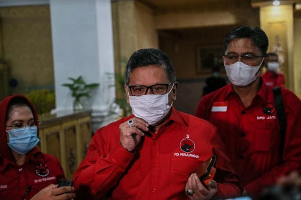 Hasto Kristiyanto Dijadwalkan Buka dan Pimpin Rakerda PDIP Sulsel