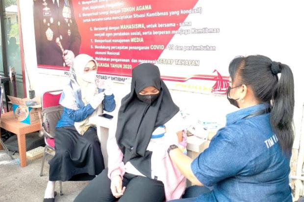 Semen Tonasa Turunkan Tim Dukung Vaksinasi Massal di Polres Pangkep