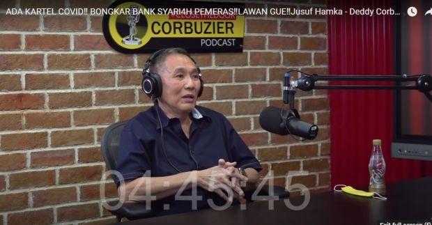 Ditipu Bank Syariah, Jusuf Hamka Blak-blakan di Podcast Deddy Corbuzier