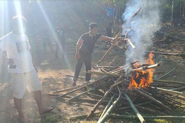 Polisi Bongkar Arena Judi Sabung Ayam Lintas Kabupaten di Luwu