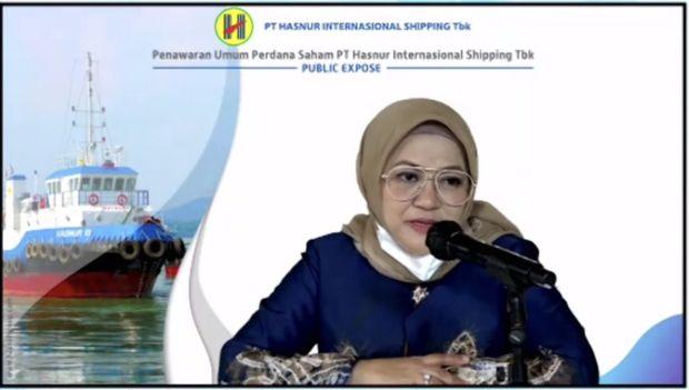 Siap IPO, Hasnur Internasional Shipping Incar Dana Rp157 Miliar