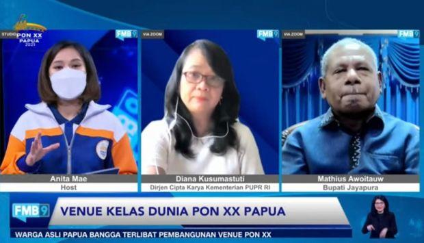 Kementerian PUPR Selesaikan 8 Venue PON XX Papua Senilai Rp950 Miliar