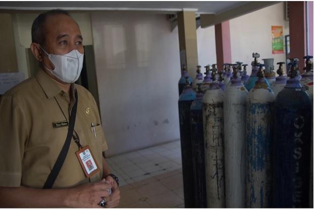 Dapat Sumbangan Oksigen dari TNI AL RSUD dr Haryoto Lumajang Kembali Terima Pasien COVID-19