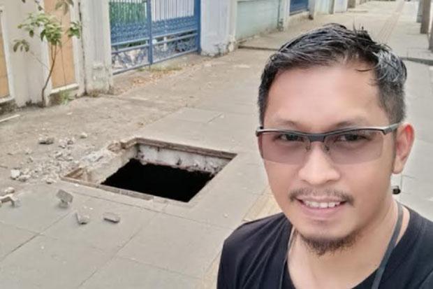 Dinas PU Makassar Respons Cepat Persoalan Tutup Drainase di Hertasning