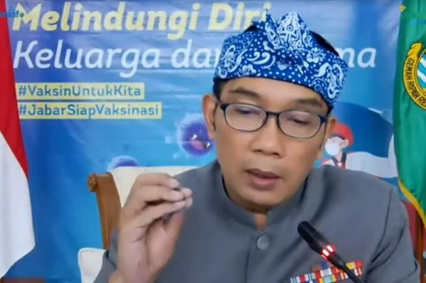 Kejar Herd Immunity, Ridwan Kamil Desak Pusat Percepat Distribusi Vaksin COVID-19