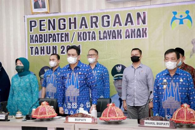 Barru Raih Penghargaan Kabupaten Layak Anak dari Kementerian PPPA