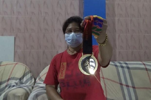 Sumbang Medali, Rahmat Erwin Sudah Lama Bercita-cita Lampaui Rekor Bapaknya