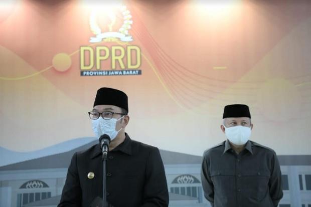 BOR Rumah Sakit COVID-19 Jabar Turun Drastis, Ridwan Kamil Usulkan Pengetatan Mikro