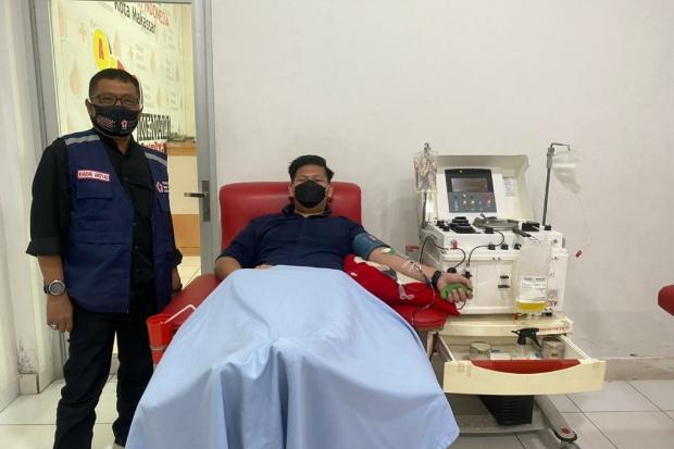 Ketua Garda Bangsa PKB Makassar Ajak Warga Donor Plasma Konvalesen