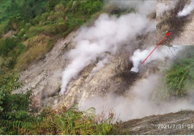 Waspada, Kawah Siglagah Gunung Dieng Semburkan Lumpur, Warga Jangan Mendekat