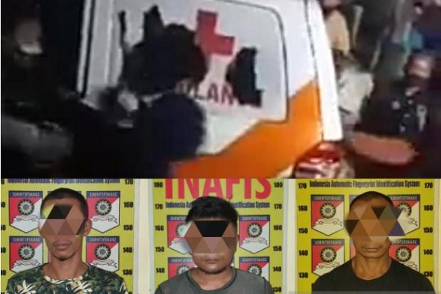 3 Orang Perusak Ambulans Jenazah COVID-19 Akhirnya Ditetapkan Jadi Tersangka