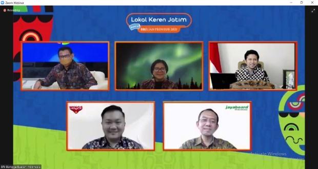 Dukung UMKM, BRI Gelar Pameran Virtual Lokal Keren Jatim Bangga Buatan Indonesia