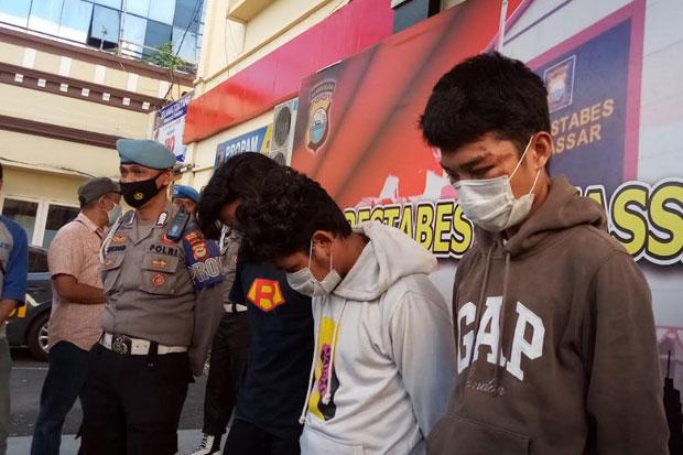 Polisi Amankan Delapan Orang Terlibat Tarung Bebas Jalanan di Makassar