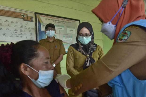 Vaksinasi Tetap Digenjot Meski Seko Masih Zona Hijau Covid-19