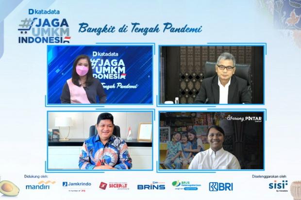 Penyelamatan UMKM secara Gotong Royong, Jamkrindo Sudah Jamin Kredit Rp475 Triliun
