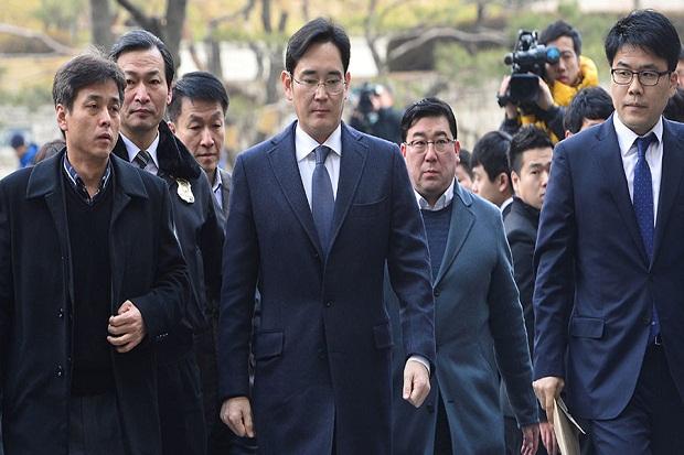 Bebas Bersyarat, Bos Samsung Minta Maaf dan Janji Kerja Keras