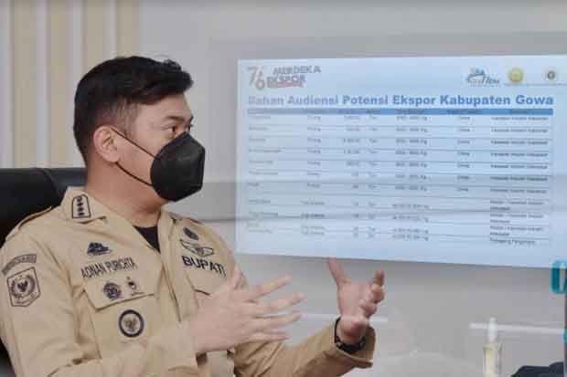 Kabupaten Gowa Ekspor 28.266 Ton Porang ke Negara China