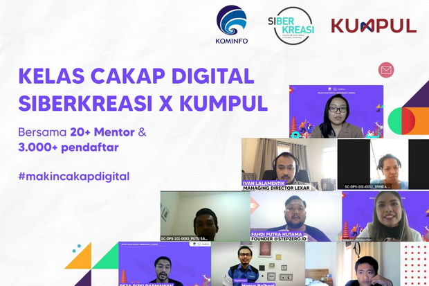 Ribuan Peserta Kelas Cakap Digital Siap Jadi Penggerak Literasi Digital
