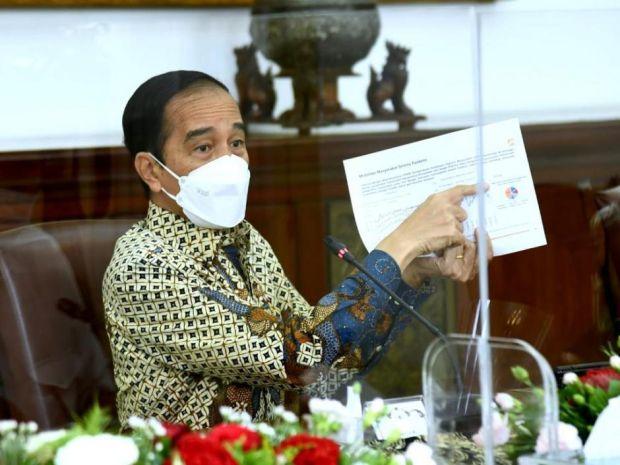 Wanti-wanti Jokowi ke Pengusaha: Tetap Waspada Meski Kasus Covid-19 Turun
