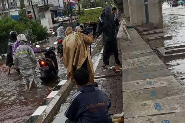 Pemkot Makassar Pertimbangkan Bangun Kolam Retensi di Jalan Pettarani
