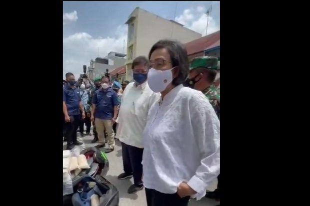 Sri Mulyani Dibuat Kagum Pasutri Penjual Tempe di Medan